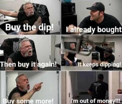 Buy the dip Meme